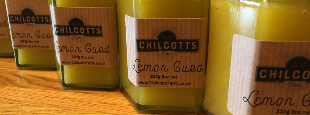 Lemon Curd Made from Fresh Eggs Laid By our Free Range Ducks & Chickens at Chilcotts Farm. Our poultry is fed on non GM food, the best we can buy