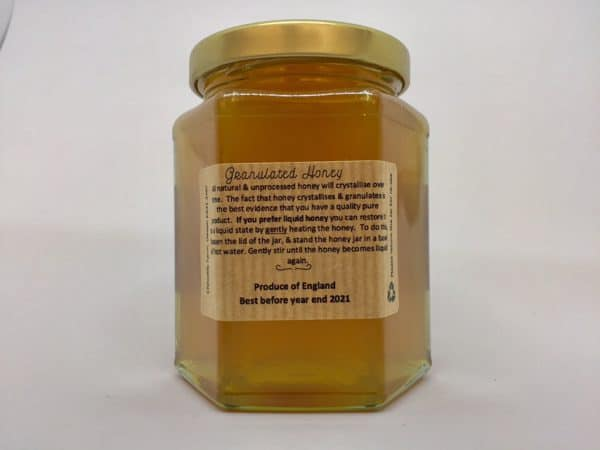 Local Honey made by bees at Chilcotts Farm - Extracted using traditional methods